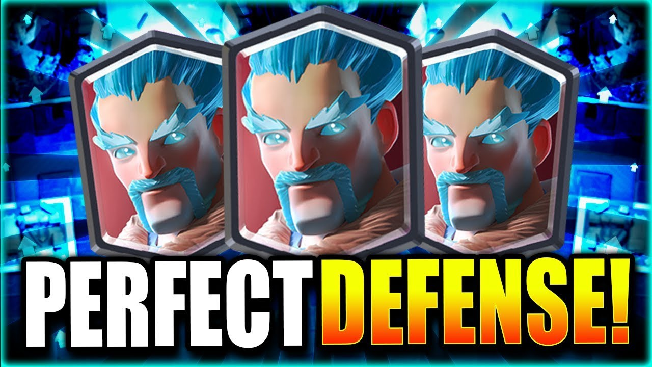 1 Unstoppable Defense Deck Easy Arena 12 Deck 2019 Youtube