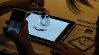 Cylindrical Mirror Optical Illusions On The iPad  #DigInfo