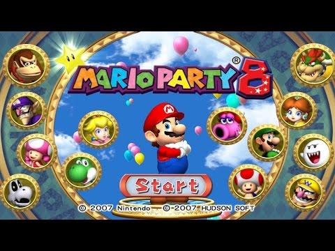 Mario Party 8 - All Boards (Solo Mode)
