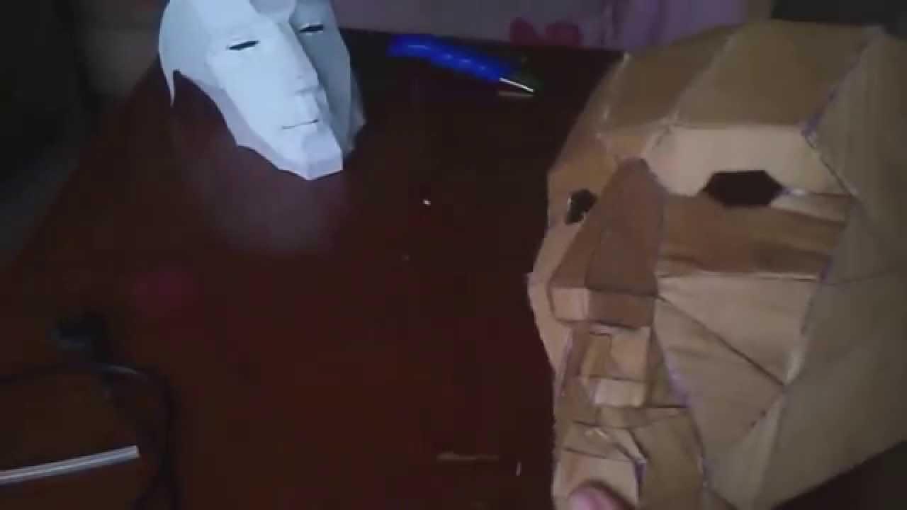 Como Fazer Máscara Face Humana Mascara Simples Youtube