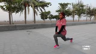 بالفيديو: بطلة عمانية تواجه شبح الاعتزال