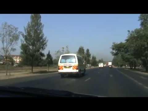 Tourist Guide : Driving Along Nakuru Highway  January 2015