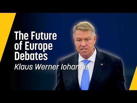 Iohannis: A Union that looks to the future // Future of Europe Speech, October 2018