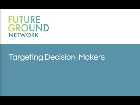 1. Letter Campaigns and Targeting Decision Makers