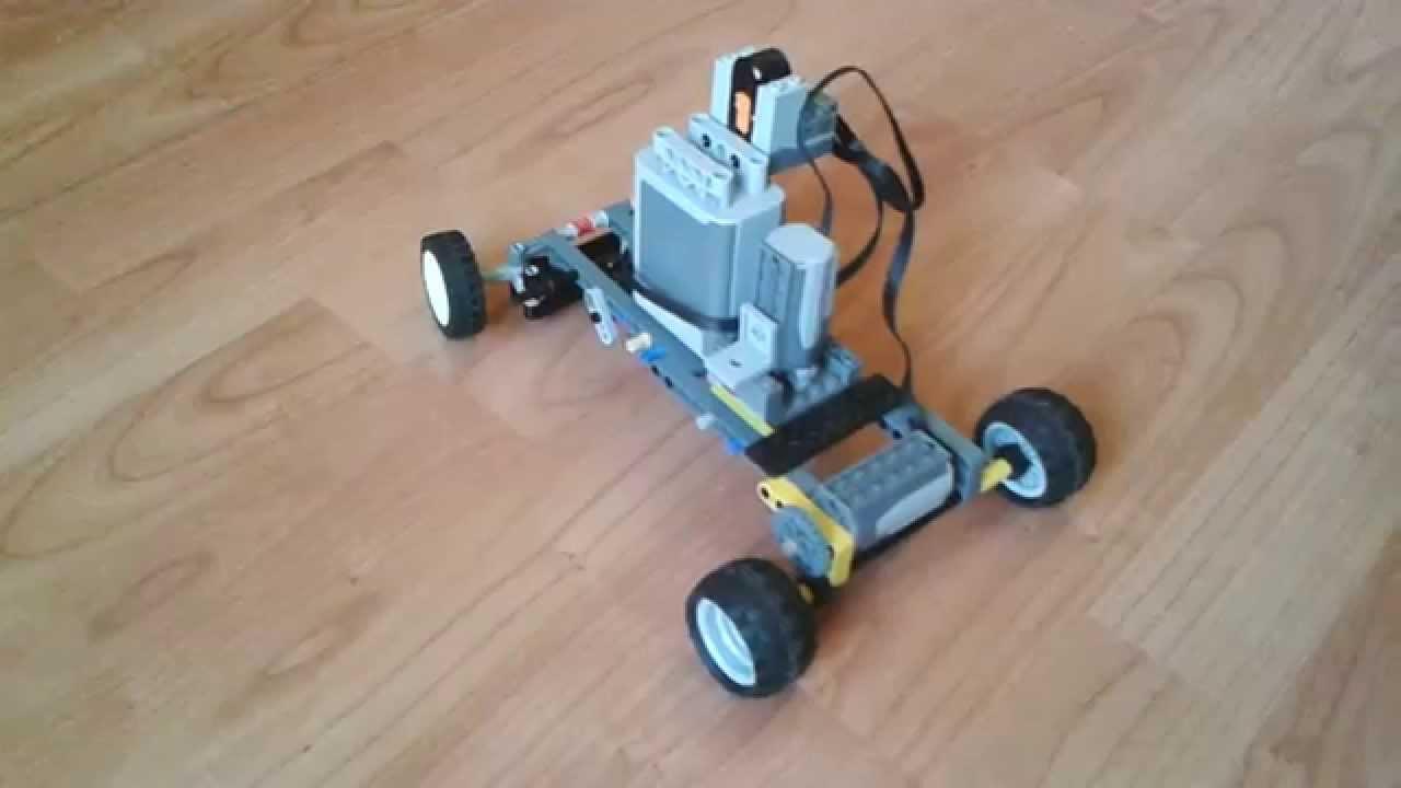 Lego Technic Pojazd Zdalnie Sterowany Z Układem Kierowniczym Youtube