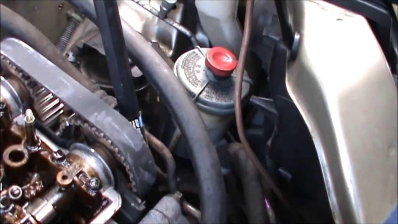Wonderful Honda CRV Timing Belt Replacement Part 3