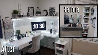 My New Home Office | $100 Budget