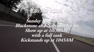 FRESNO GROUP RIDE ANNOUNCEMENT!!!