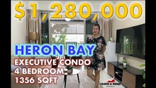 FOR SALE: Heron Bay 4 Bedder 1356sqft