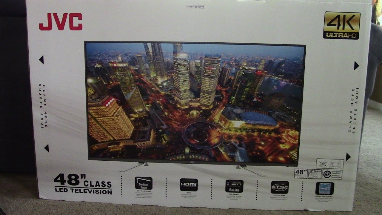 Jvc 48 inch 4k tv review - YouTube