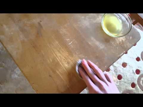Awsome DIY all Natural Furniture Polish