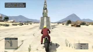 GTA V Online - M#6 Moto Skill Test | Compartenos tus Mapas!!
