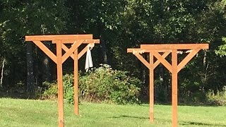 How To: Build & Install 4X4 Post Clothesline. Save Money on Utility Bills ~ #DIY