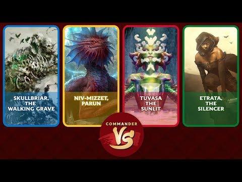 Commander VS S13E3: Skullbriar vs Niv-Mizzet vs Tuvasa vs Etrata [EDH]