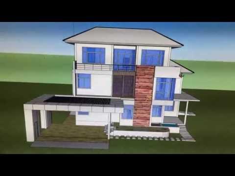 รับออกแบบบ้าน รับเขียนแบบบ้าน หาดใหญ่ สงขลา