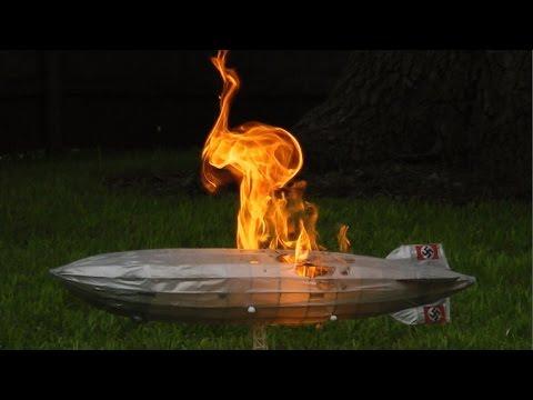 Hindenburg Explosion 2015 [HD]