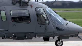 RNZAF Launch the all new A109 Helicopter
