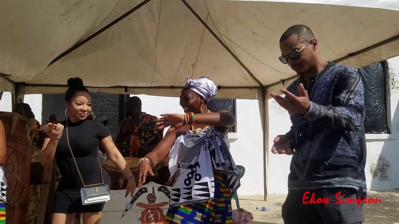 Rapper T.I and Wife Learning Ghanaian Traditional Dance | Apatampa dance
