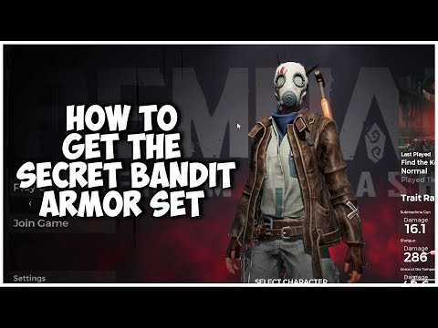 REMNANT FROM THE ASHES | How To Get The Secret Bandit Armor Set