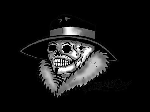 Gangster Drawings Of Skulls