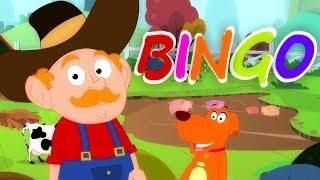 бинго собака | детские стишки | щенок рифмы | Дети песни | Bingo The Dog | Oh My Genius Russia
