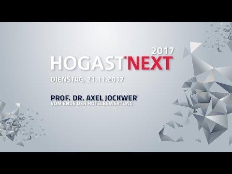 HOGAST-NEXT Live   Prof. Dr. Axel Jockwer: Vom Ende der Hotelbewertung