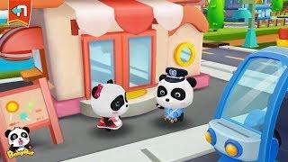 Baby Panda's Candy Shop was Stolen | Baby Panda Sheriff | Policeman Pretend Play | BabyBus screenshot 5