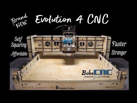 BobsCNC Evolution 4 Install/Software/Cutting