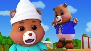 Teddybär umdrehen | Kinderreim für Babys | Deutsch Kinderlied | Kids Songs | Teddy Bear Turn Around