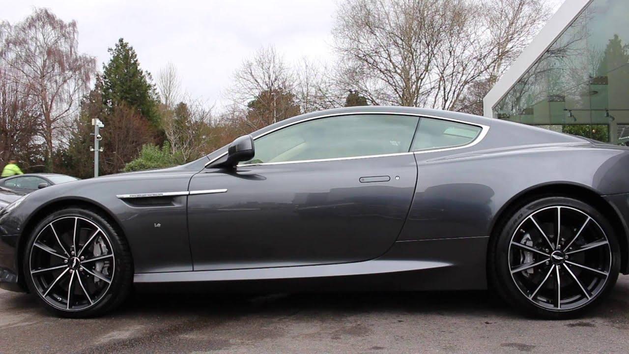 Meterorite Silver Db9 Gt At Aston Martin Cambridge Youtube