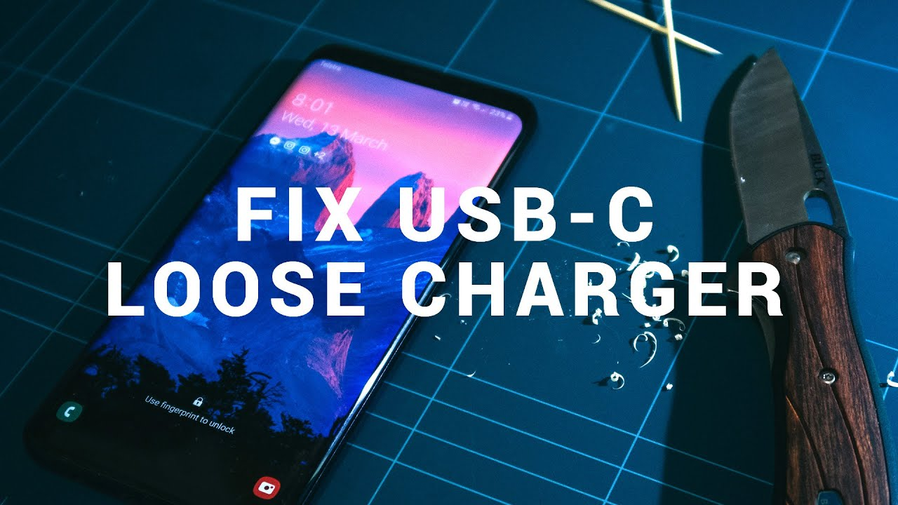 How To Get Lint Out Of Usb C Port