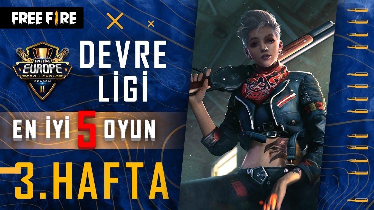 FFEUPL SS2 - Devre Ligi 3. Hafta En İyi 5 Oyun