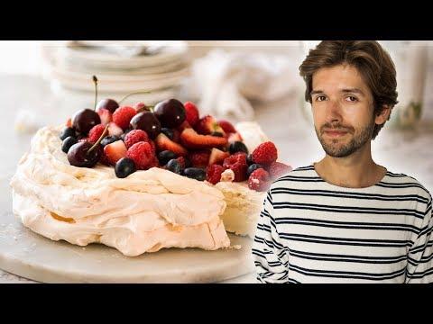 Pavlova Mit Himbeeren / Meringue Torte REZEPT Und ANLEITUNG | Michis Küche