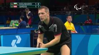 Baixar Table Tennis| Bulgaria vs Austria| Men's Singles- Class 10 Quarterfinal 2| Rio 2016 Paralympic Games