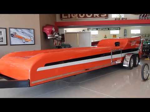 "Historic ""Rain For Rent"" Warren-Coburn 75-77 Top Fuel Dragster & Mr Ed Trailer"