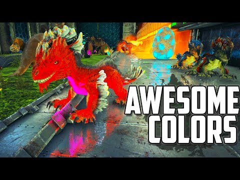 HATCHING DINOS DURING VALENTINES EVENT | AWESOME COLOR MUTATIONS | OFFICIAL ARK | Ep 51