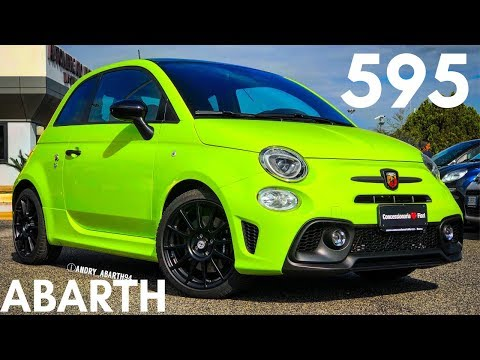 595 competizione verde adrenalina