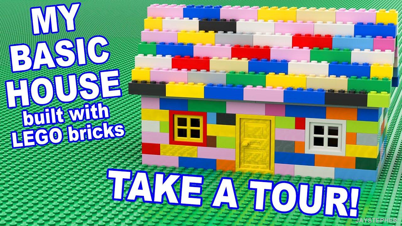 Custom My Basic Lego House Cc Youtube