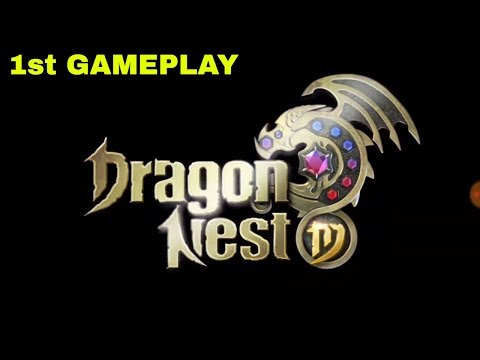 Dragon Nest 1st Time Gameplay