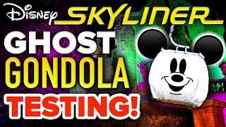 Disney Skyliner GONDOLA GHOST Testing! - Mickey Views News