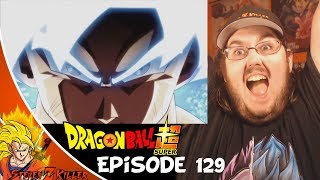 GOKU MASTERED ULTRA INSTINCT!!!| Dragon Ball Super Episode 129 HD English Subbed Preview REACTION!!!