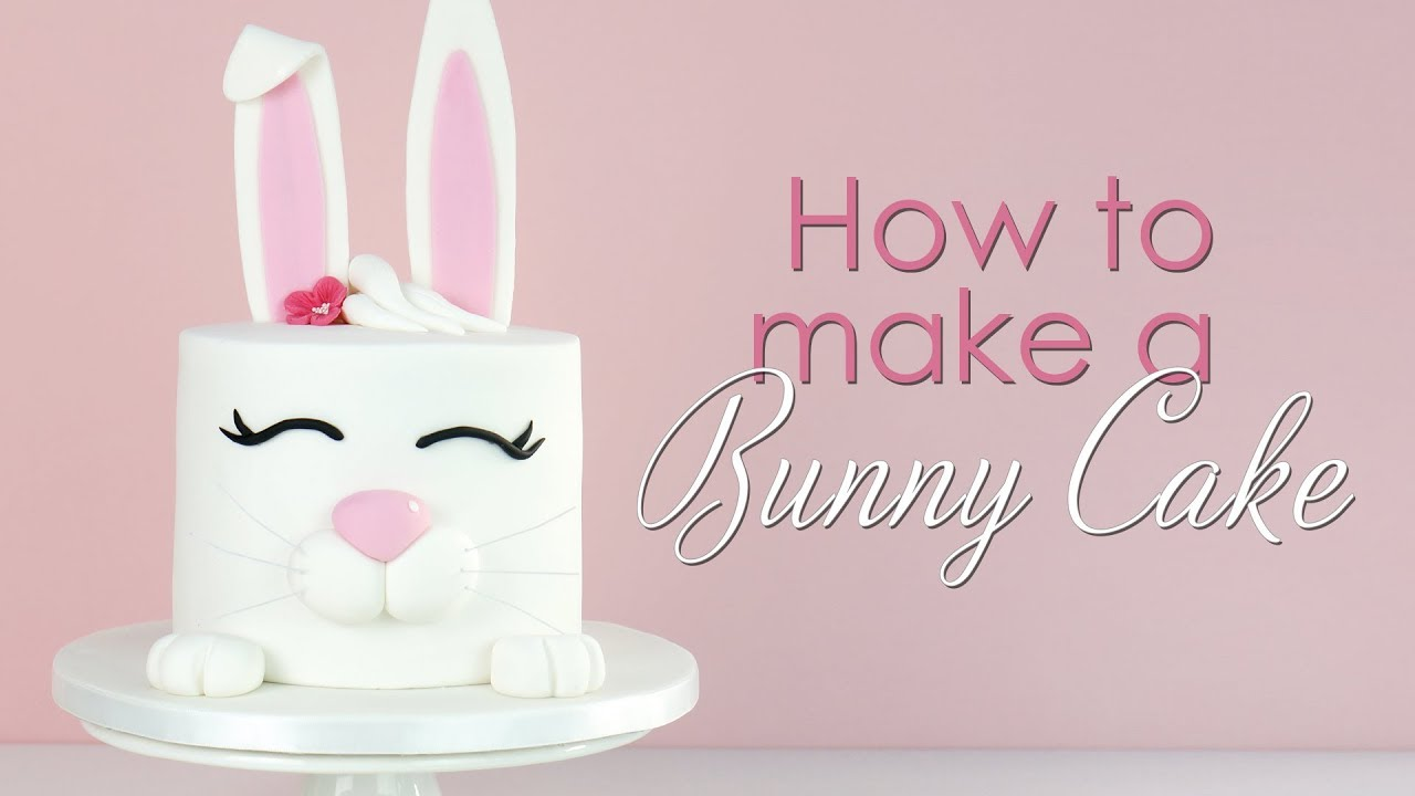 How To Make A Bunny Rabbit Cake Tutorial