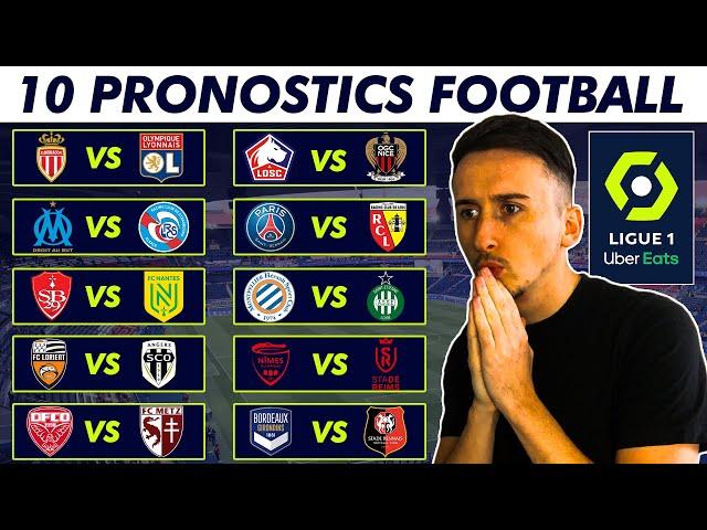 PRONOSTIC FOOT : MES 10 PRONOSTICS LIGUE 1 ! (35éme journée)