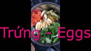 Rau trộn chay ngon tuyệt,tốt sức khoẻ -Vegetarian salad, delicious, healthy food-  Yoga Windy (V12)