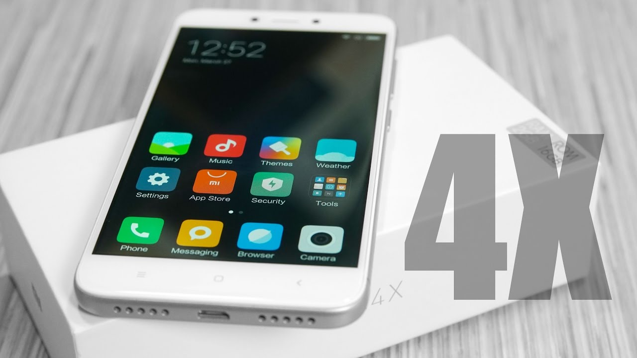 Xiaomi Redmi 4X (Sold as Redmi 4 in India) - Unboxing & Hands On! - YouTube