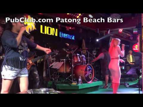 Patong Beach Phuket Nightlife Walking Street Bars