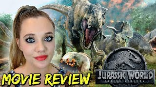 JURASSIC WORLD: FALLEN KINGDOM (2018) - Movie Review - Chris Pratt, Bryce Dallas Howard