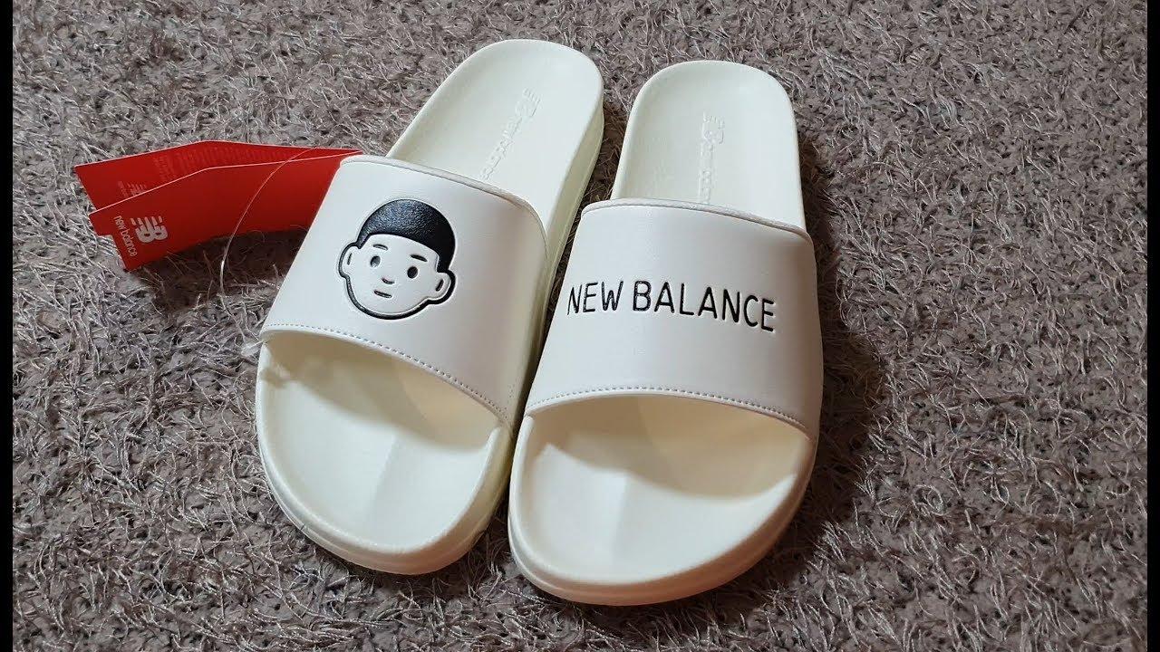 4K Noritake x New Balance Slides and