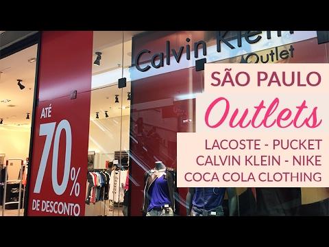 SP - Conhecendo outlets! - Lacoste, Nike, Calvin Klein e mais...