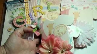 Simple Baby Mini Photo Album